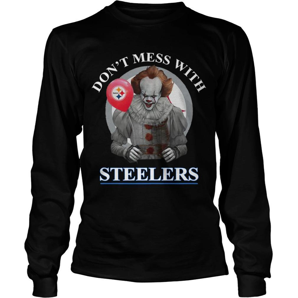 Pennywise Don't Mess With Steelers Longsleeve