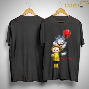 Pennywise It And Morty Friends Shirt