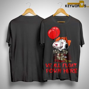 Pennywise Snoopy We All Float Down Here Shirt