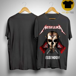 Punisher Metallica Essendon Shirt