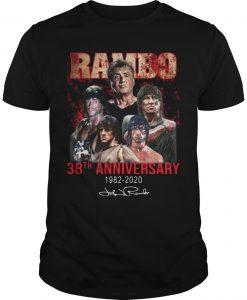 Rambo 38th Anniversary 1982 2020 Signature