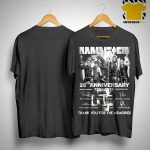 Rammstein 25th Anniversary 1994 2019 Signatures Shirt