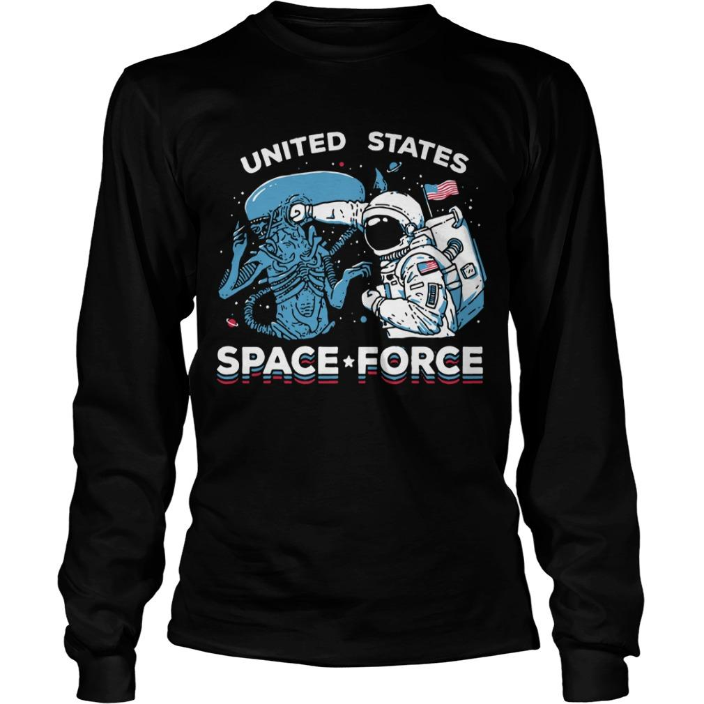 Ripple Seventh Anniversary United States Space Force Longsleeve