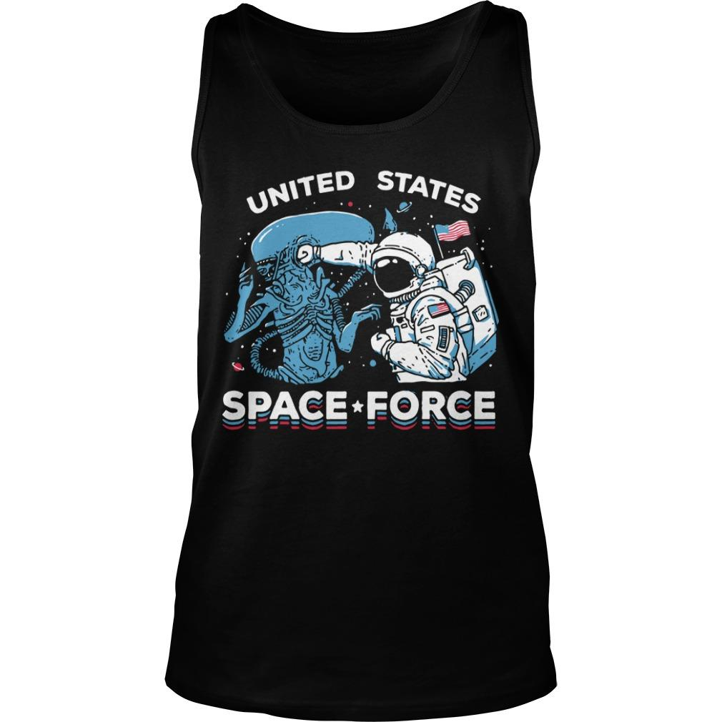 Ripple Seventh Anniversary United States Space Force Tank Top
