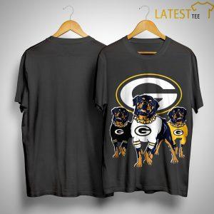 Rottweiler Green Bay Packers Shi
