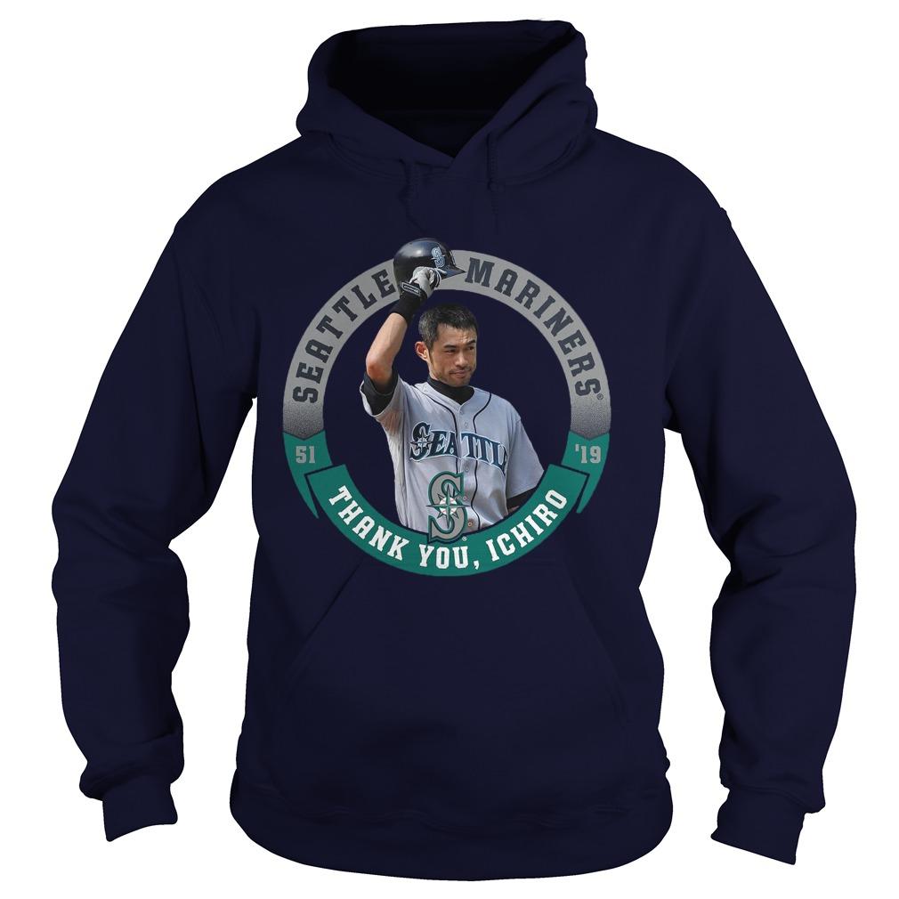 Seattle Mariners Thank You Ichiro Hoodie