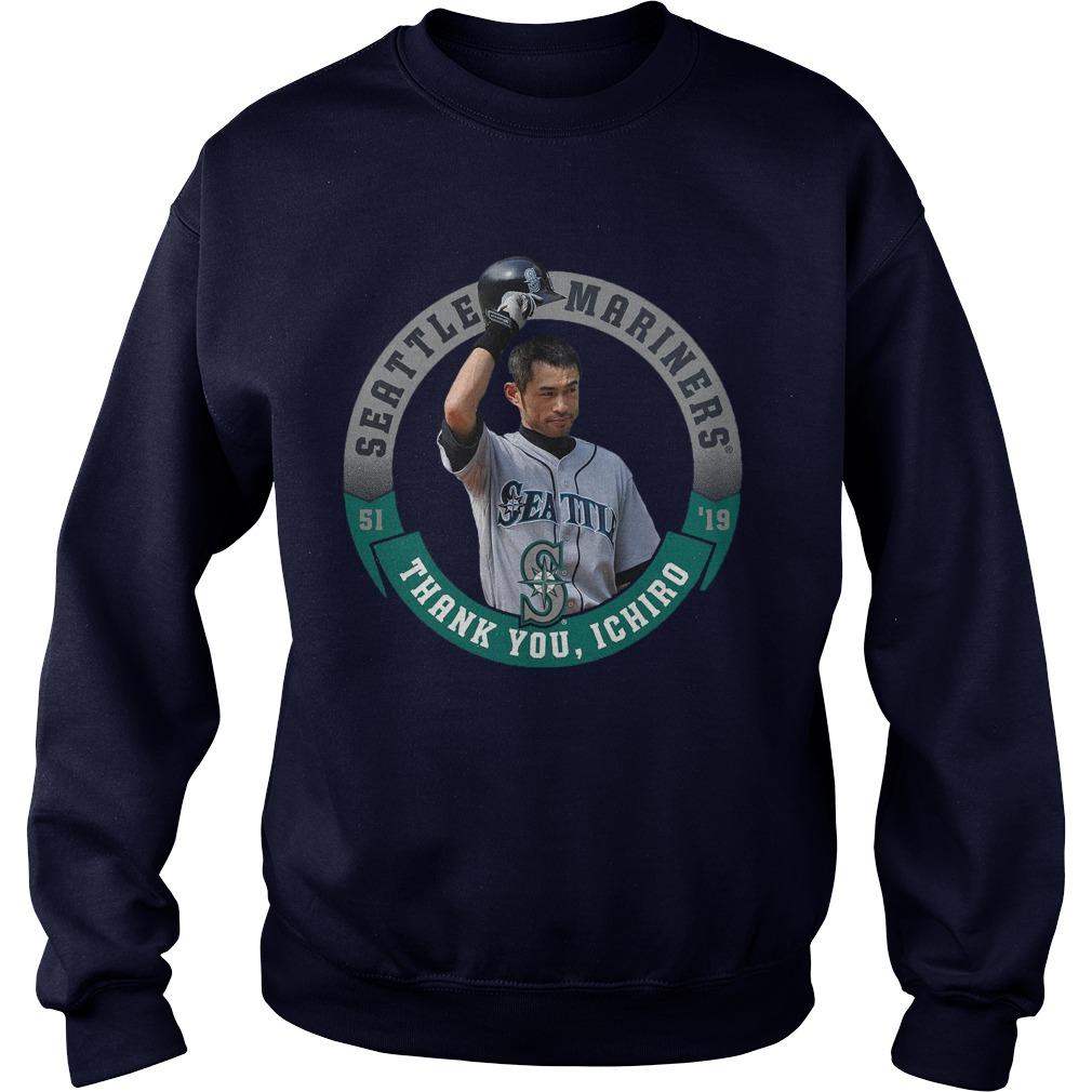 Seattle Mariners Thank You Ichiro Sweater