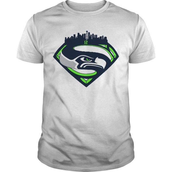 Seattle Seahawks Superman 12