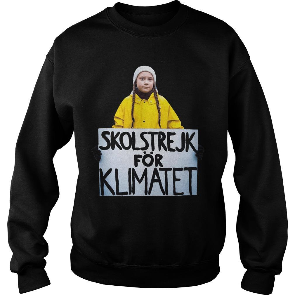 Skolstrejk För Klimatet Sweater