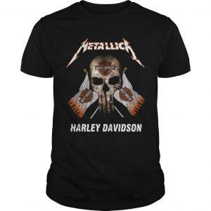 Skull Metallica Harley Davidson