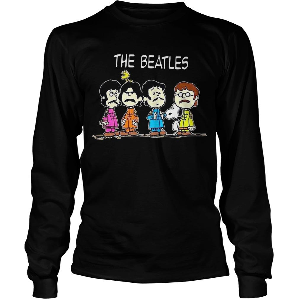 Snoopy And Baby The Beatles Longsleeve