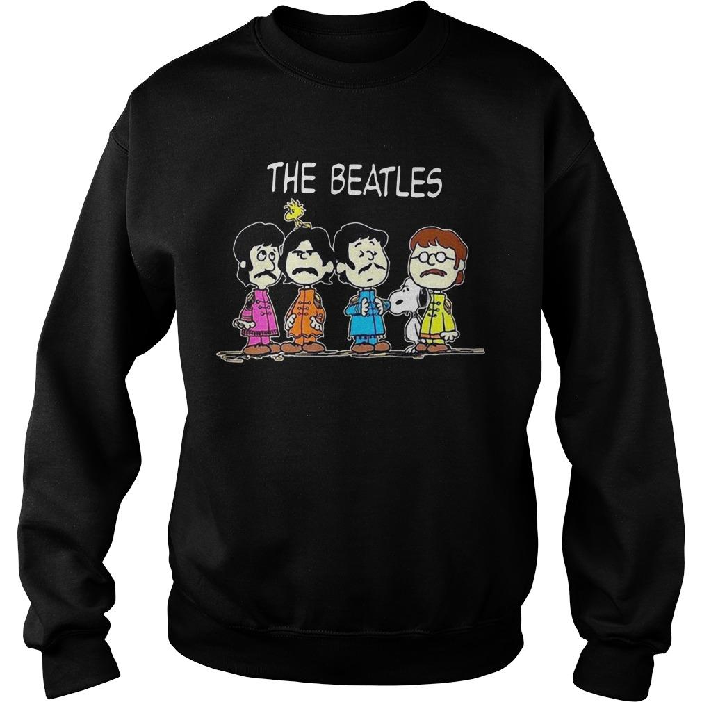 Snoopy And Baby The Beatles Sweater