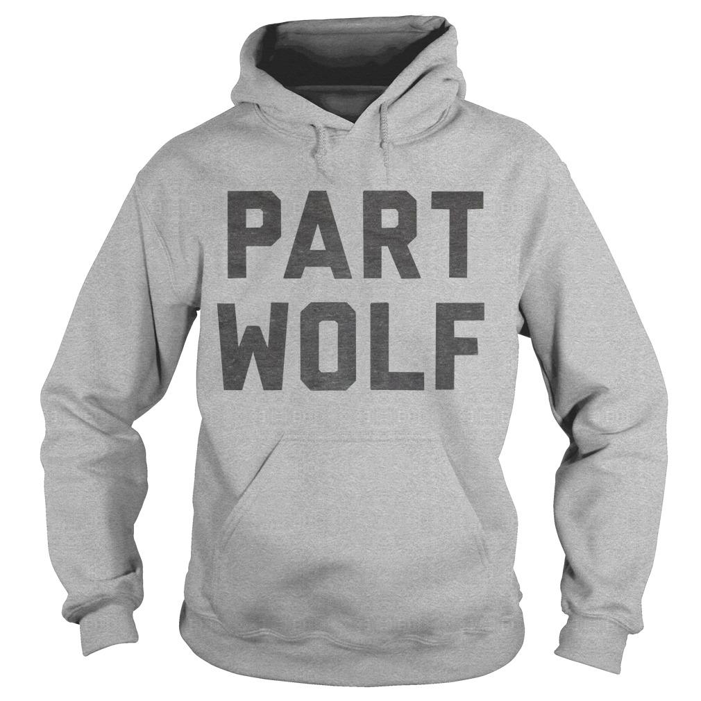 Stay Foxx Part Wolf Hoodie