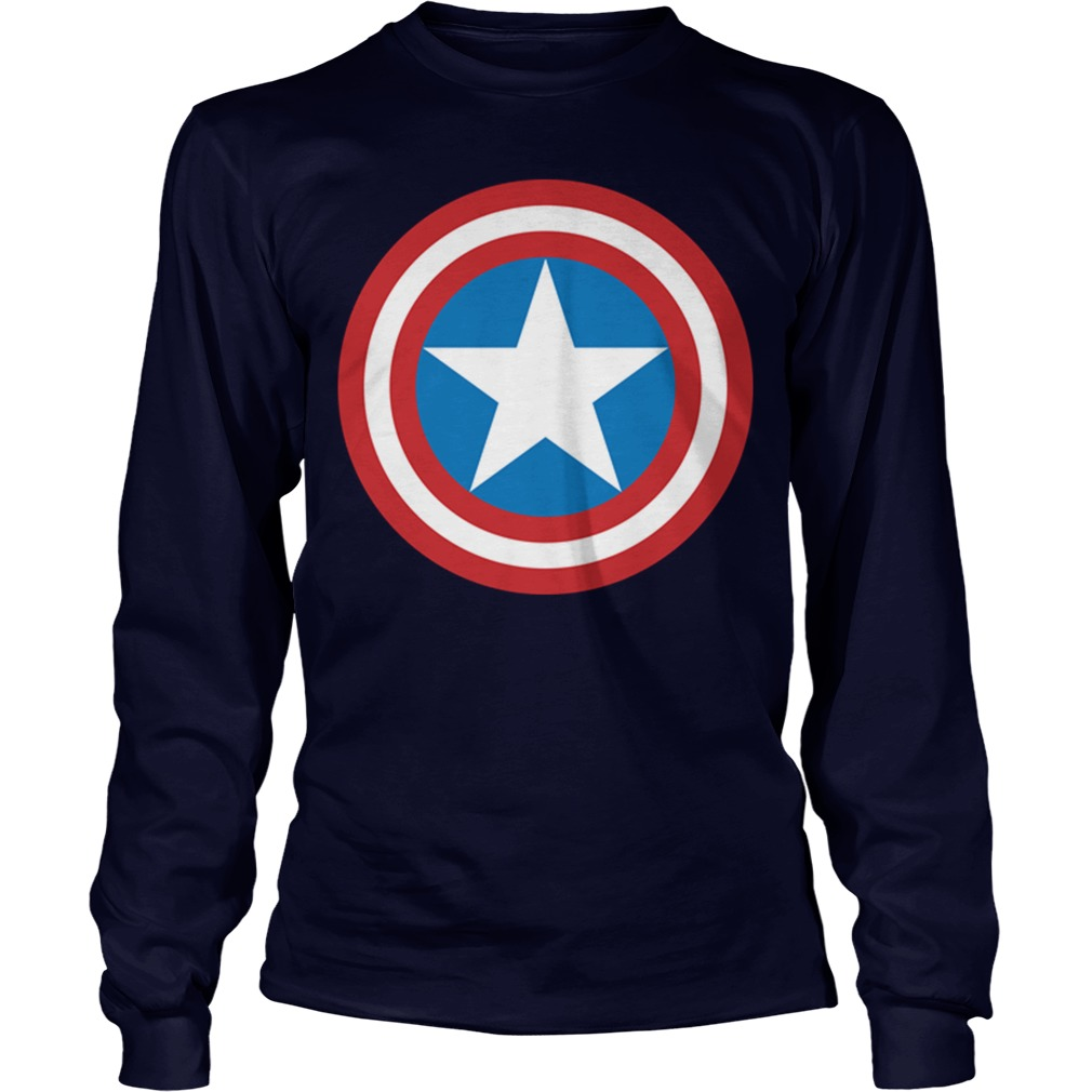 Straight Pride Parade Captain America Longsleeve