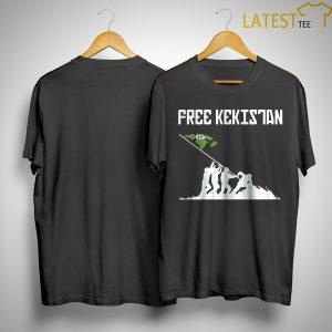Straight Pride Parade Free Kekistan Shirt