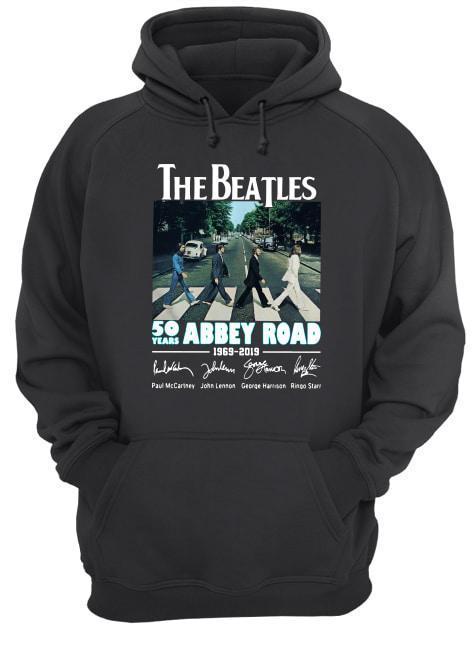 The Beatles 50 Years Abbey Road 1969 2019 Hoodie