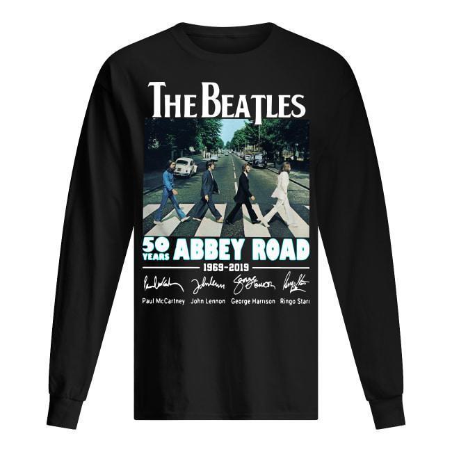 The Beatles 50 Years Abbey Road 1969 2019 Longsleeve