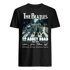 The Beatles 50 Years Abbey Road 1969 2019 Shirt