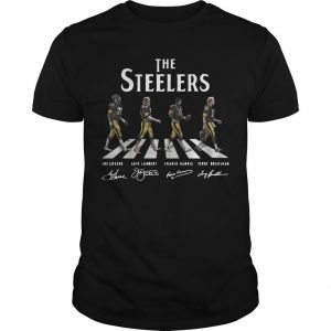 The Steelers Abbey Road Signatures Shirt