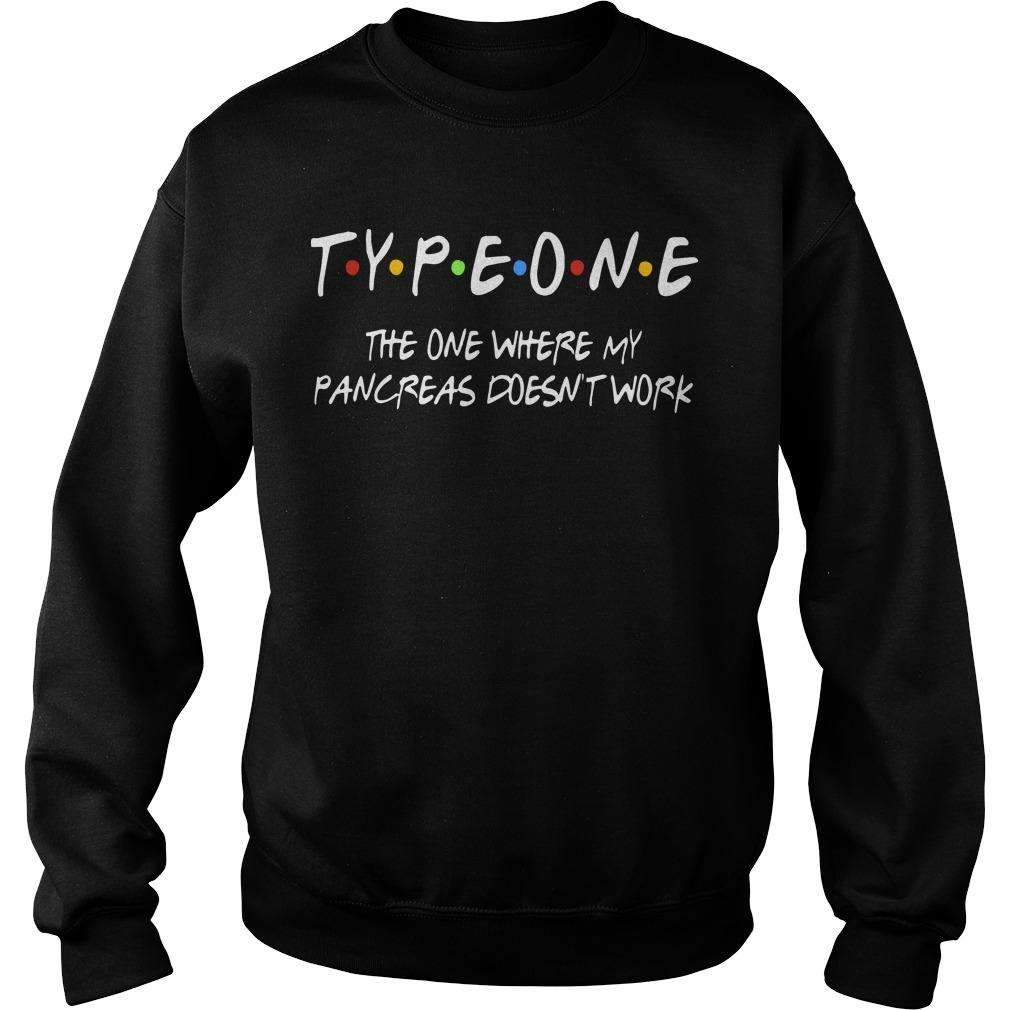 Typeone The One Where Pancres Doesn't Work Sweater