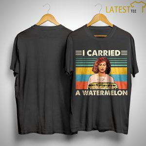 Vintage Dirty Dancing I Carried A Watermelon Shirt