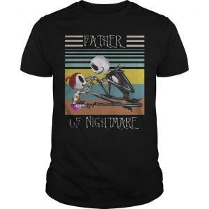 Vintage Jack Skellington Father Of Nightmare Shirt