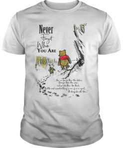 Winnie The Pooh Never Forget Who You Are