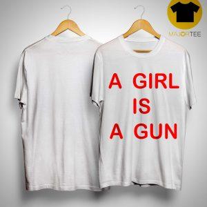 Wiz Khalifa A Girl Is A Gun Shirt