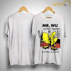 Wu Tang Clan Mr. Wu By Robert Diggs Shirt