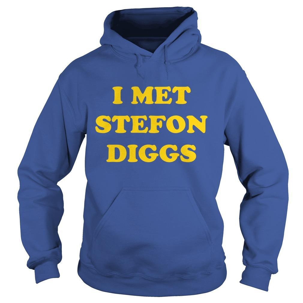 Yahoo Sports I Met Stefon Diggs Hoodie