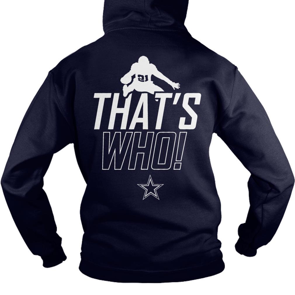 Zeke Who Cowboys Hoodie