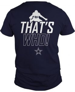 Zeke Who Jerry Jones T Shirt