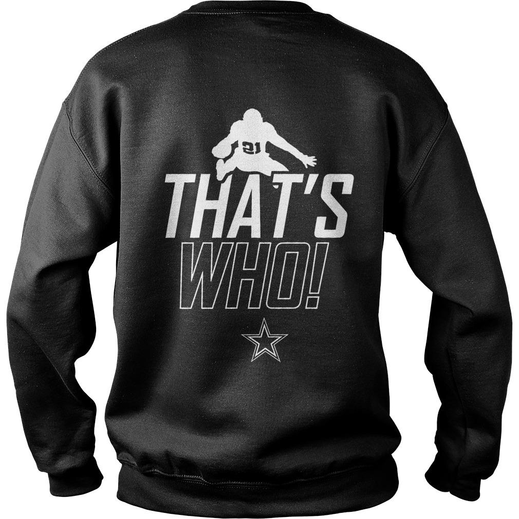 Zeke Who Jerry Jones T Sweater