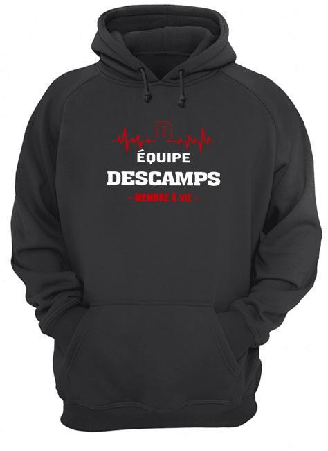 Équipe Descamps Membre À Vie Hoodie