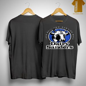 100% Bell Cow Running Back Dairy Sanders Shirt