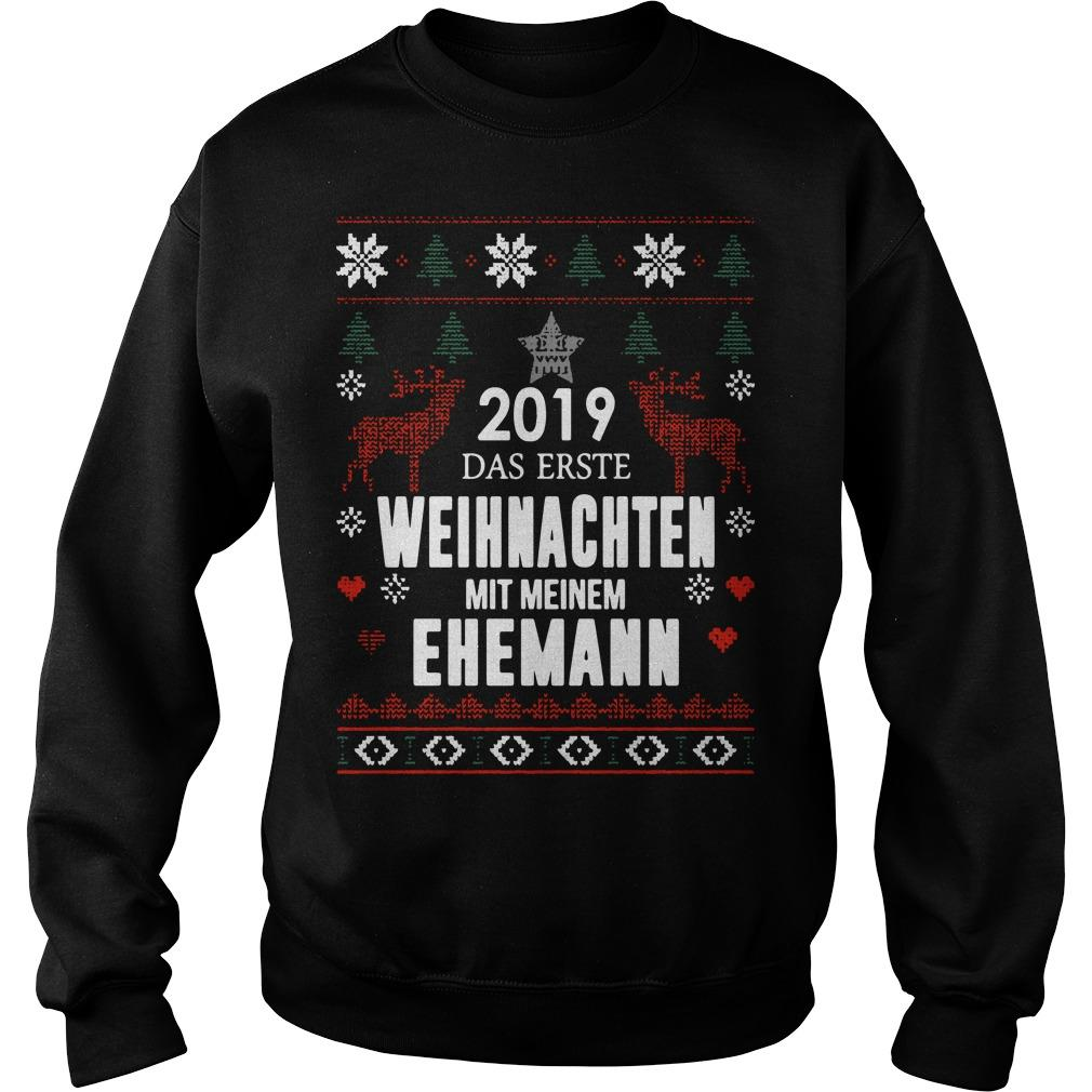 2019 Das Erste Weihnachten Mit Meinem Ehemann Sweater