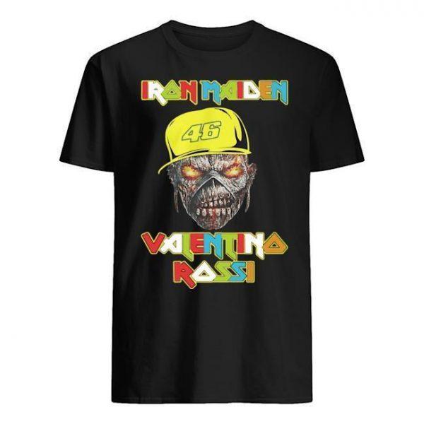 46 Racer Iron Maiden Valentino Rossi Shirt
