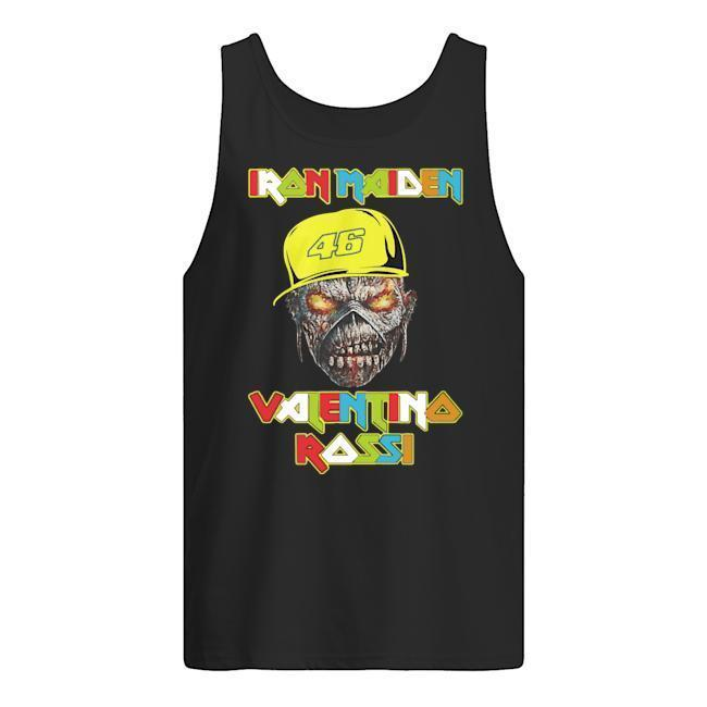 46 Racer Iron Maiden Valentino Rossi Tank Top