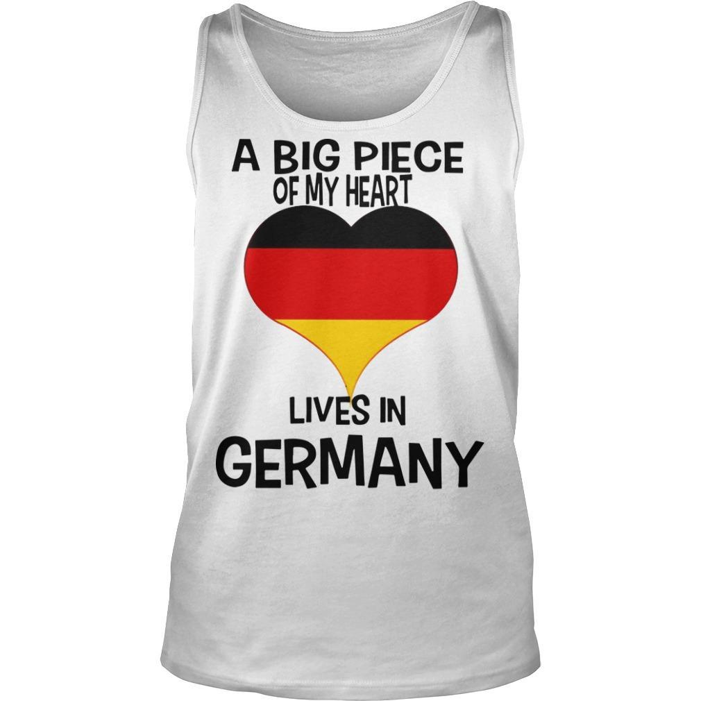 A Big Piece Of My Heart Lives In German Tank Top