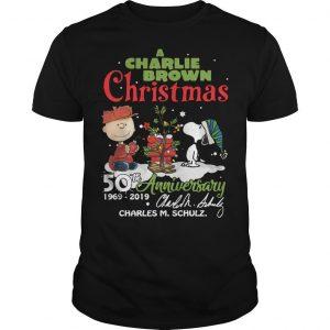 A Charlie Brown Chritsmas 50th Anniversary 1969 2019 Shirt