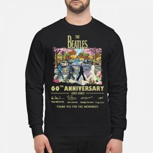 Abbey Road Under Blossom The Beatles 60 Anniversary Thank You For The Memories Shirt
