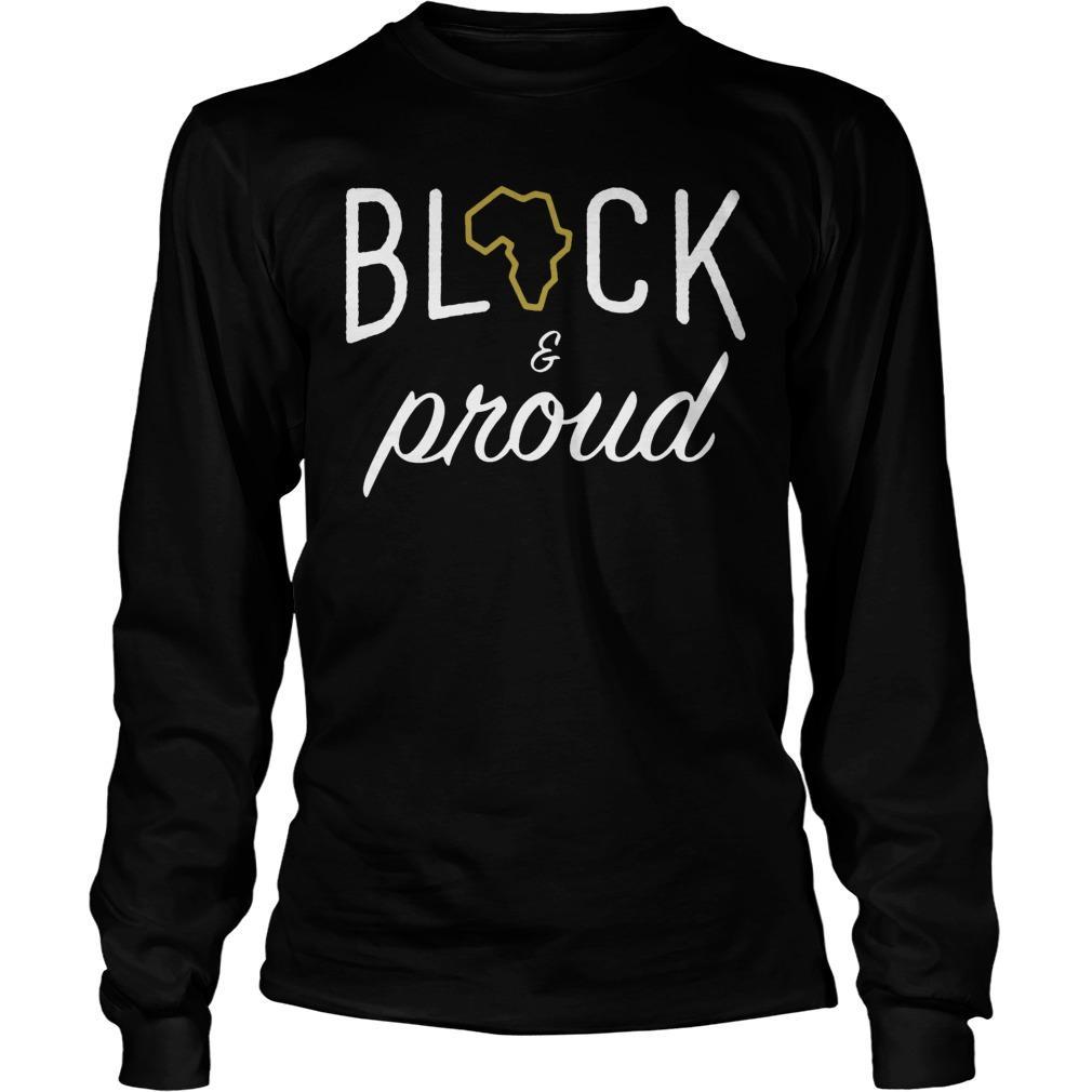 Africa Black And Proud Longsleeve
