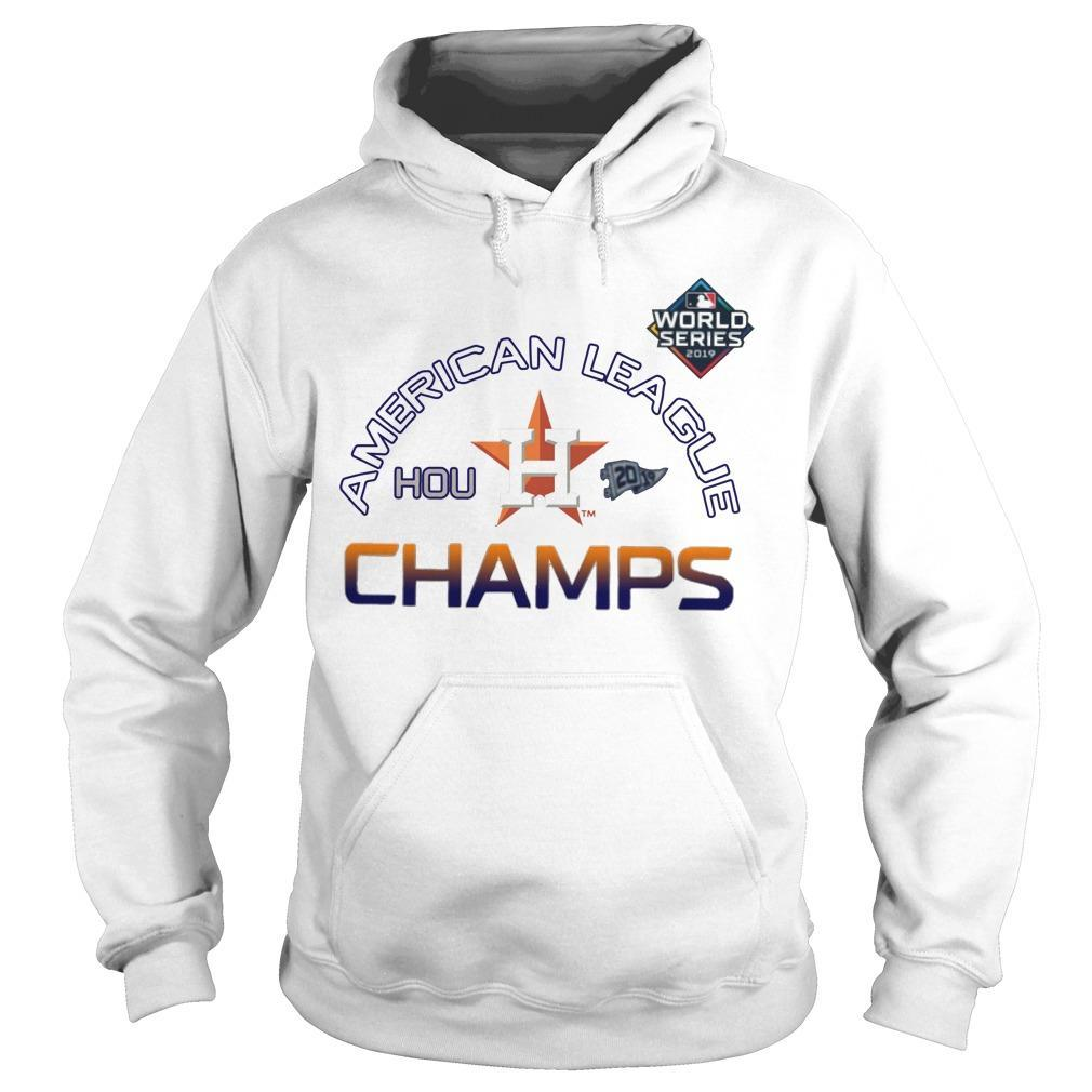 American League Champs Astros Locker Room Hoodie