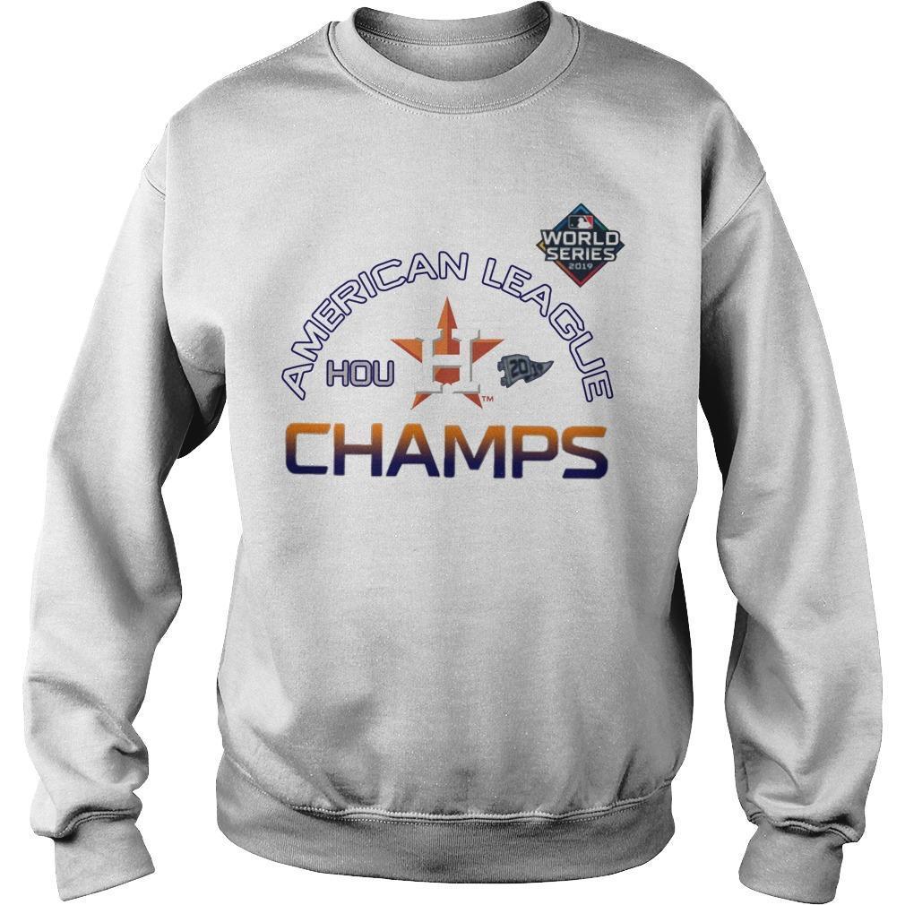 American League Champs Astros Locker Room Sweater