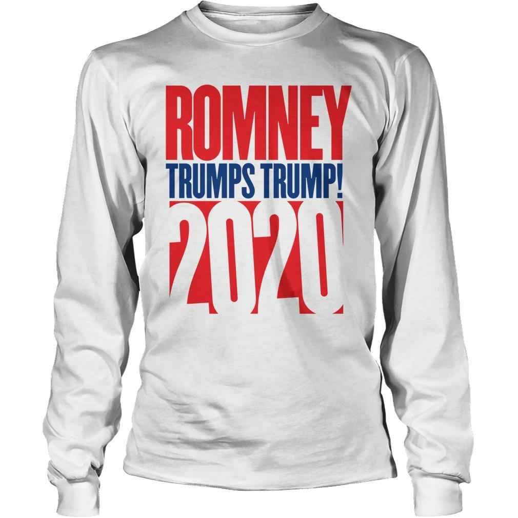 Anthony Scaramucci Romney Trumps Trump 2020 Longsleeve