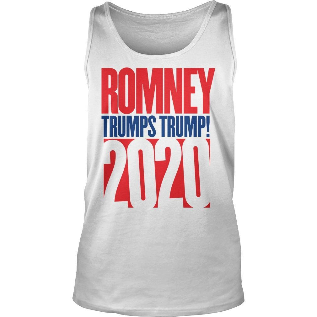 Anthony Scaramucci Romney Trumps Trump 2020 Tank Top