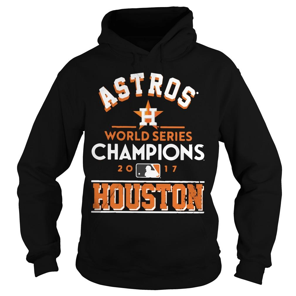 Astros World Series Champions 2017 Houston Academy Astros Hoodie