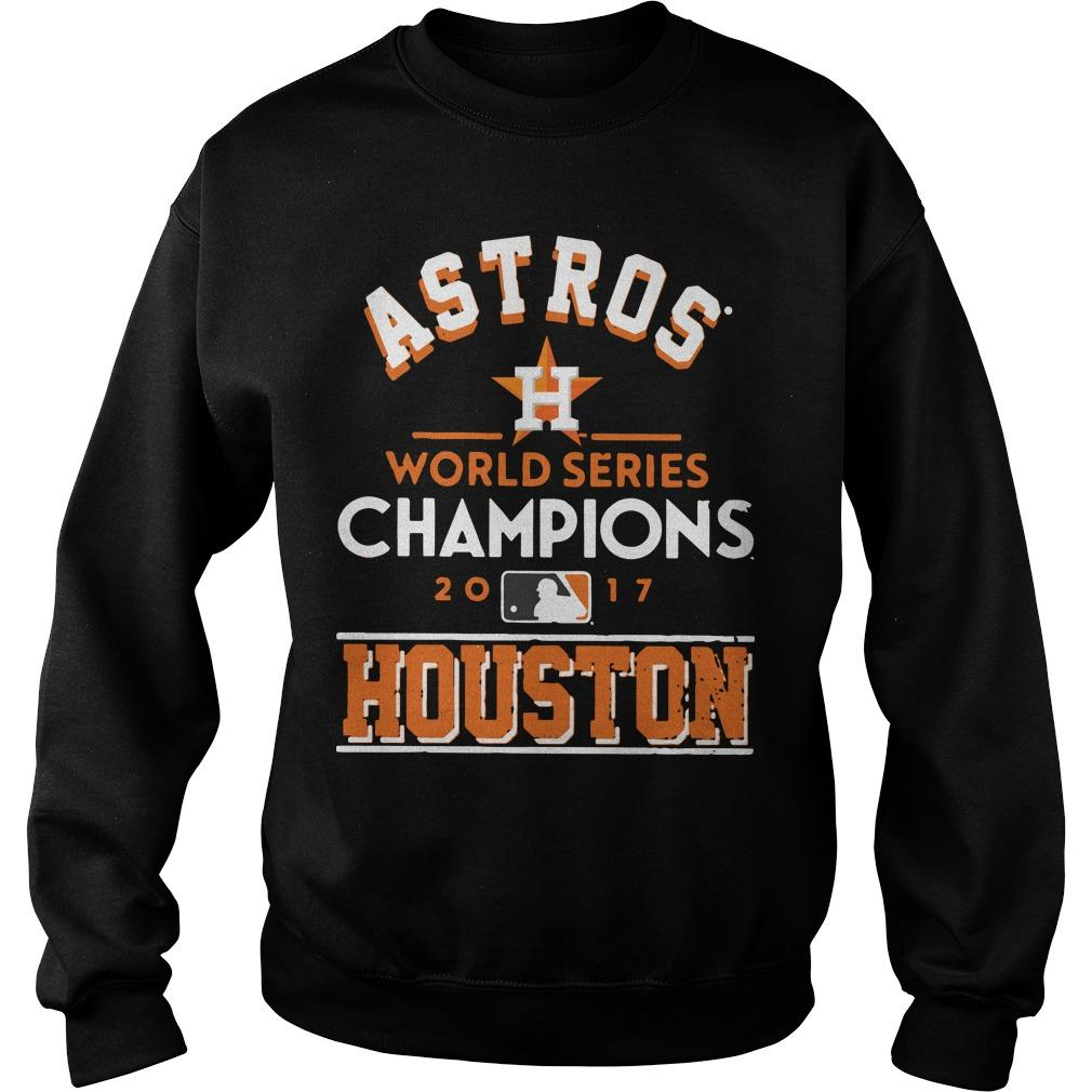 Astros World Series Champions 2017 Houston Academy Astros Sweater