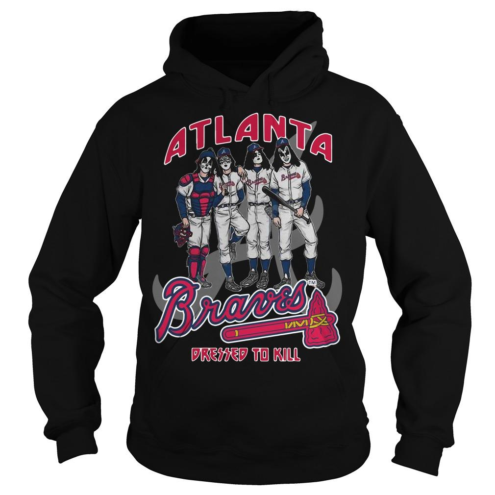 Atlanta Braves Dressed To Kill Hoodie