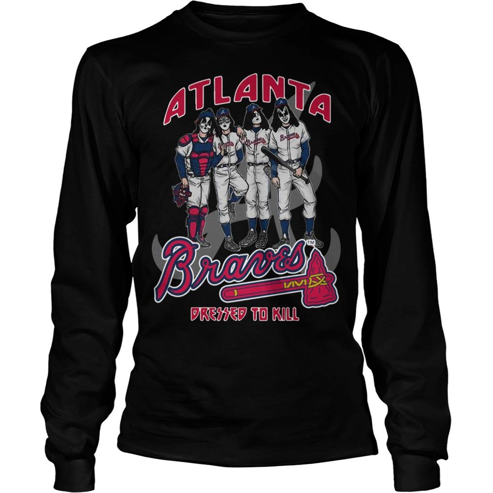 Atlanta Braves Dressed To Kill Longsleeve